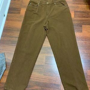 Size 16 Ralph Lauren brown pants